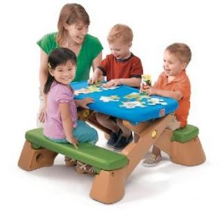 Step2 speelgoed picknicktafel kinderen