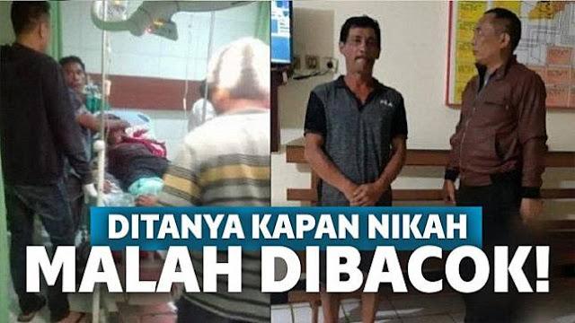 Kesal! Pria Tega Bac0k Tetangga Setelah Ditanya Kapan Nikah