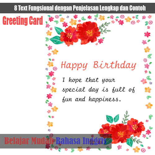 Contoh greeting card happy birthday m4hsunfo