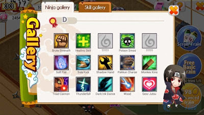 Download Ninja Heroes Apk v1.1.0( Mega MOD+GOLD )