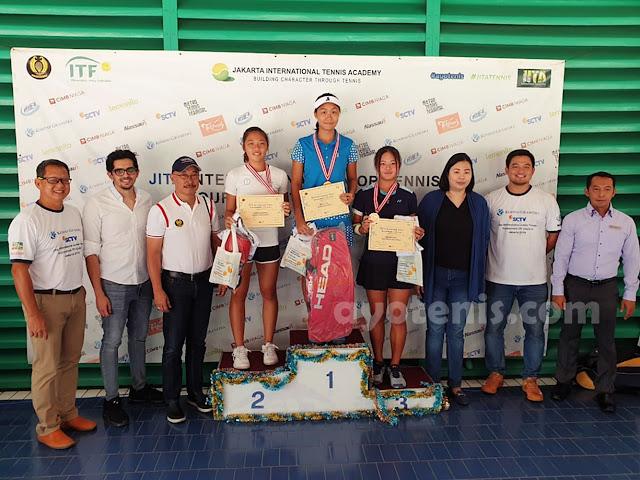 Kalahkan Vineetha Mummadi, Janice Tjen Juara JITA International Junior Tennis Tournament 2019