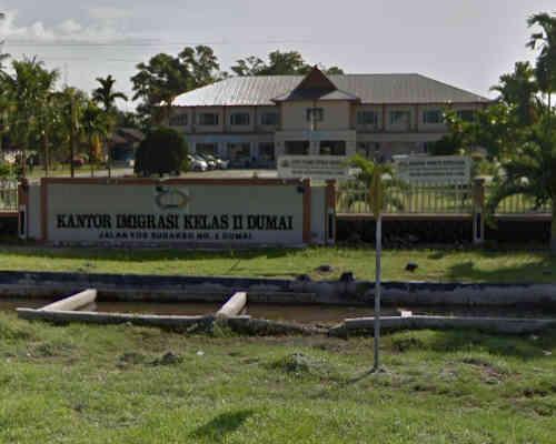 Alamat Telepon Kantor Imigrasi Kelas II TPI Dumai - Riau