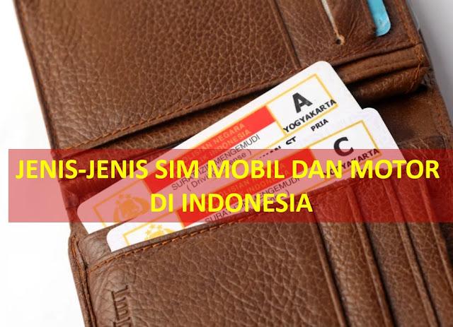 surat izin mengemudi mobil SIM
