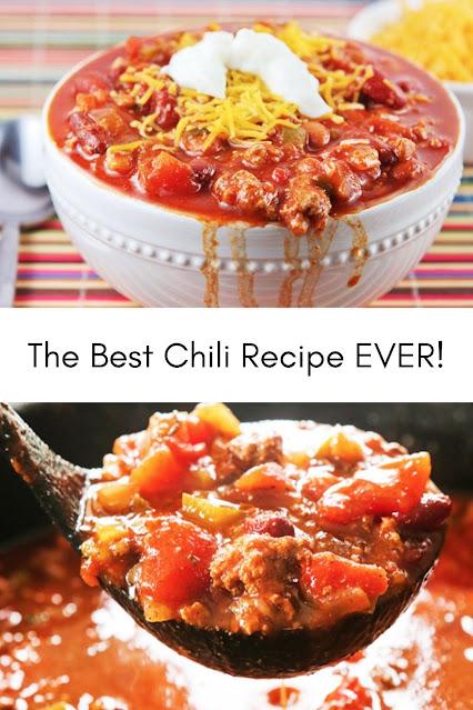 The Best Chili Recipe EVER!
