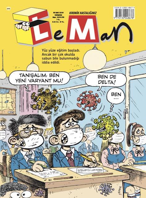 LeMan Dergisi - 15 Eylül 2021 Kapak