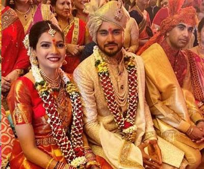 Manish Pandey ans Ashrita Shetty