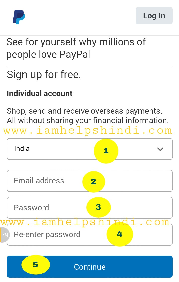 how to change account details on paypal
