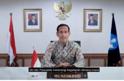 Mendikbud Nadiem Makarim: Terima Kasih Guru Telah Menjadi Pelukis Peradaban Indonesia