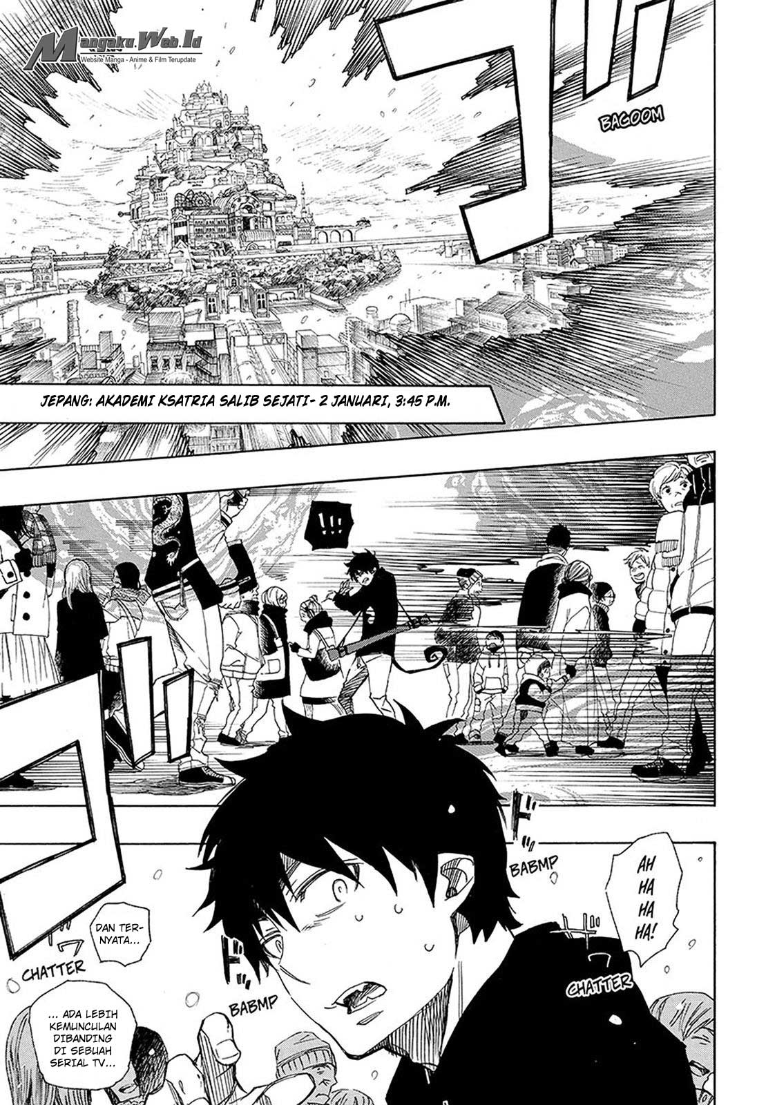 Ao no Exorcist Chapter 95-14
