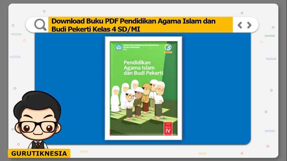 download buku pdf pendidikan agama islam dan budi pekerti kelas 4 sd/mi