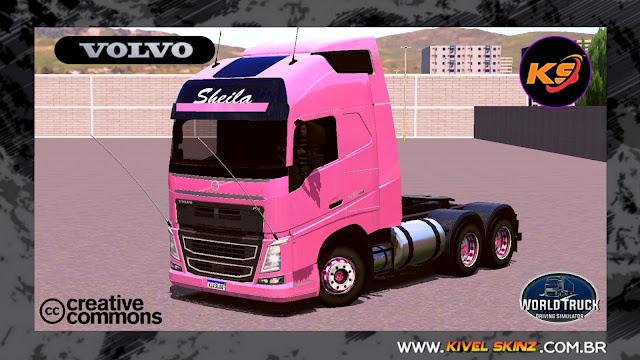 VOLVO FH16 750 - VOLVO 500 SHEILA BELLAVER REMASTERIZADO