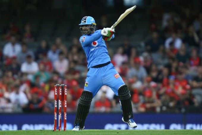 BBL 2019/20: Rashid Khan played with a unique bat in BBL against Melbourne Renegades