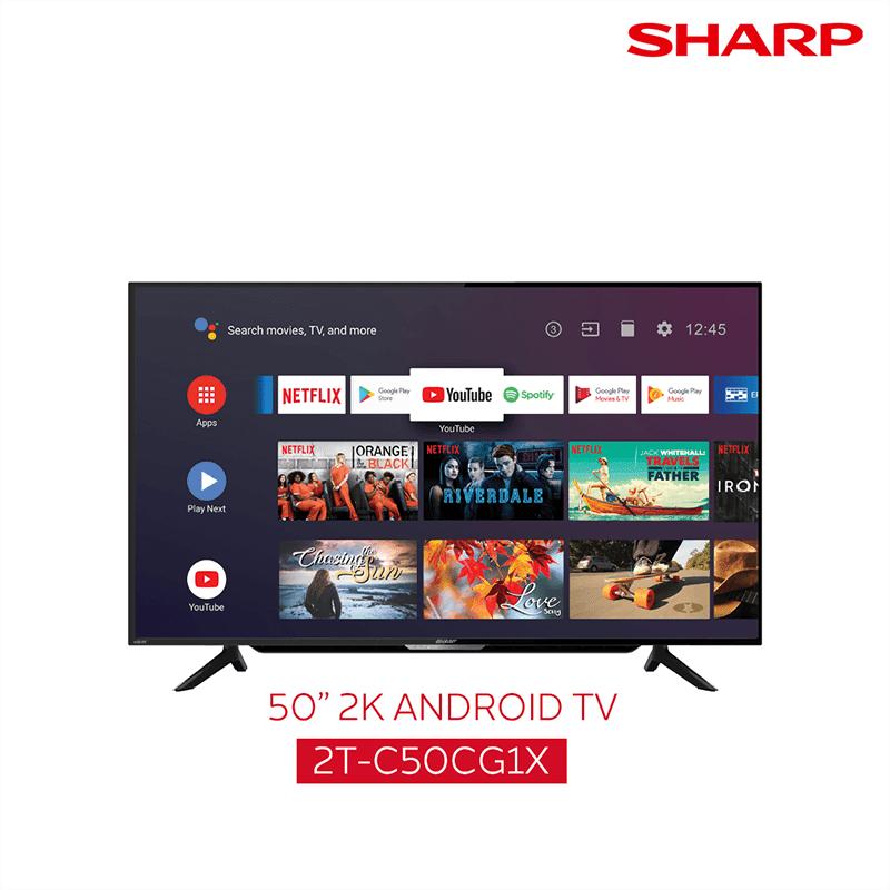 50-inch 2K TV