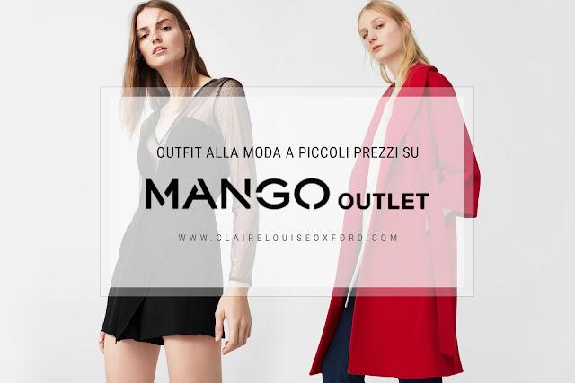 Mango Outlet, outfit alla moda a prezzi economici