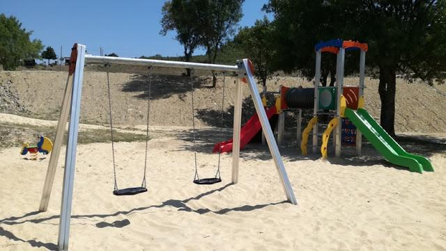 Parque Infantil da Praia da Fraga da Pegada
