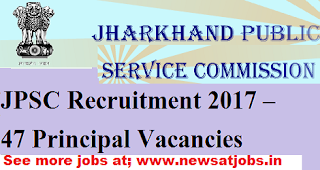 jpsc-47-principal-Vacancies