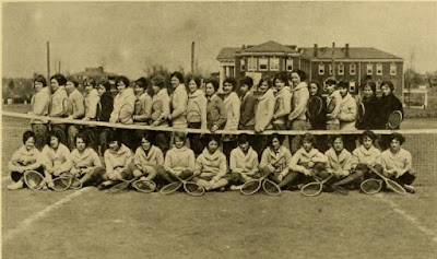 Pinquet Tennis Club Harrisonburg Teachers College 1925 https://jollettetc.blogspot.com