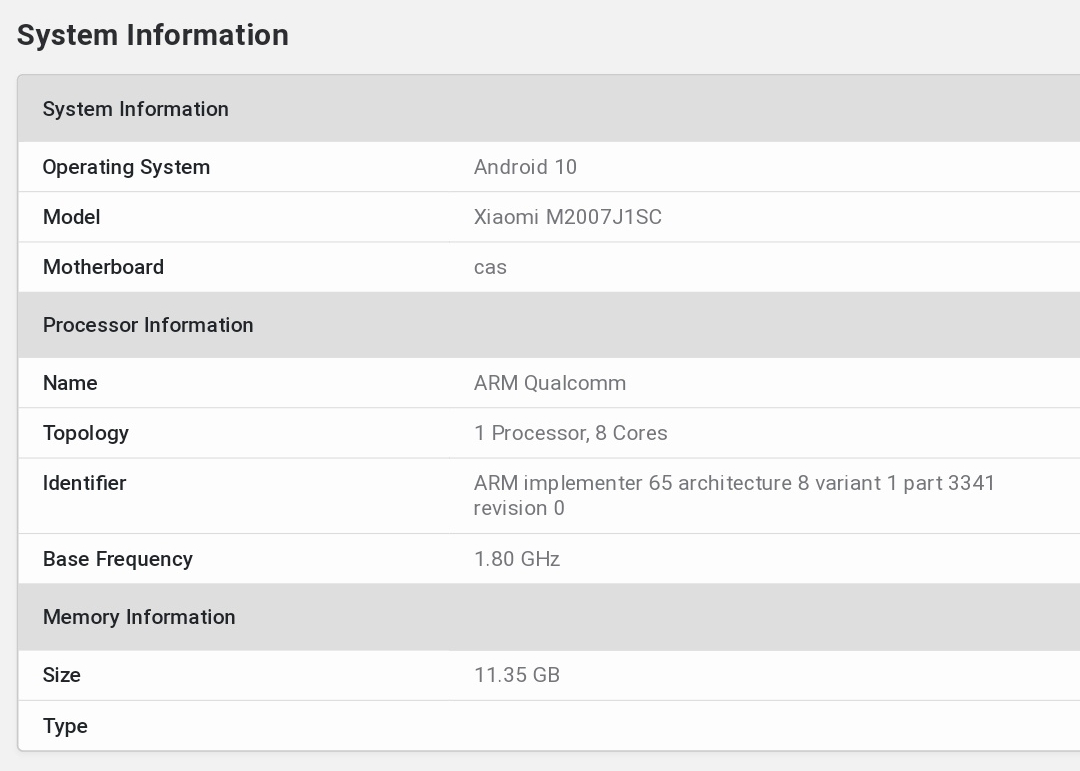 Xiaomi Mi 10 Pro Plus have listed on GeekBench with amazing features