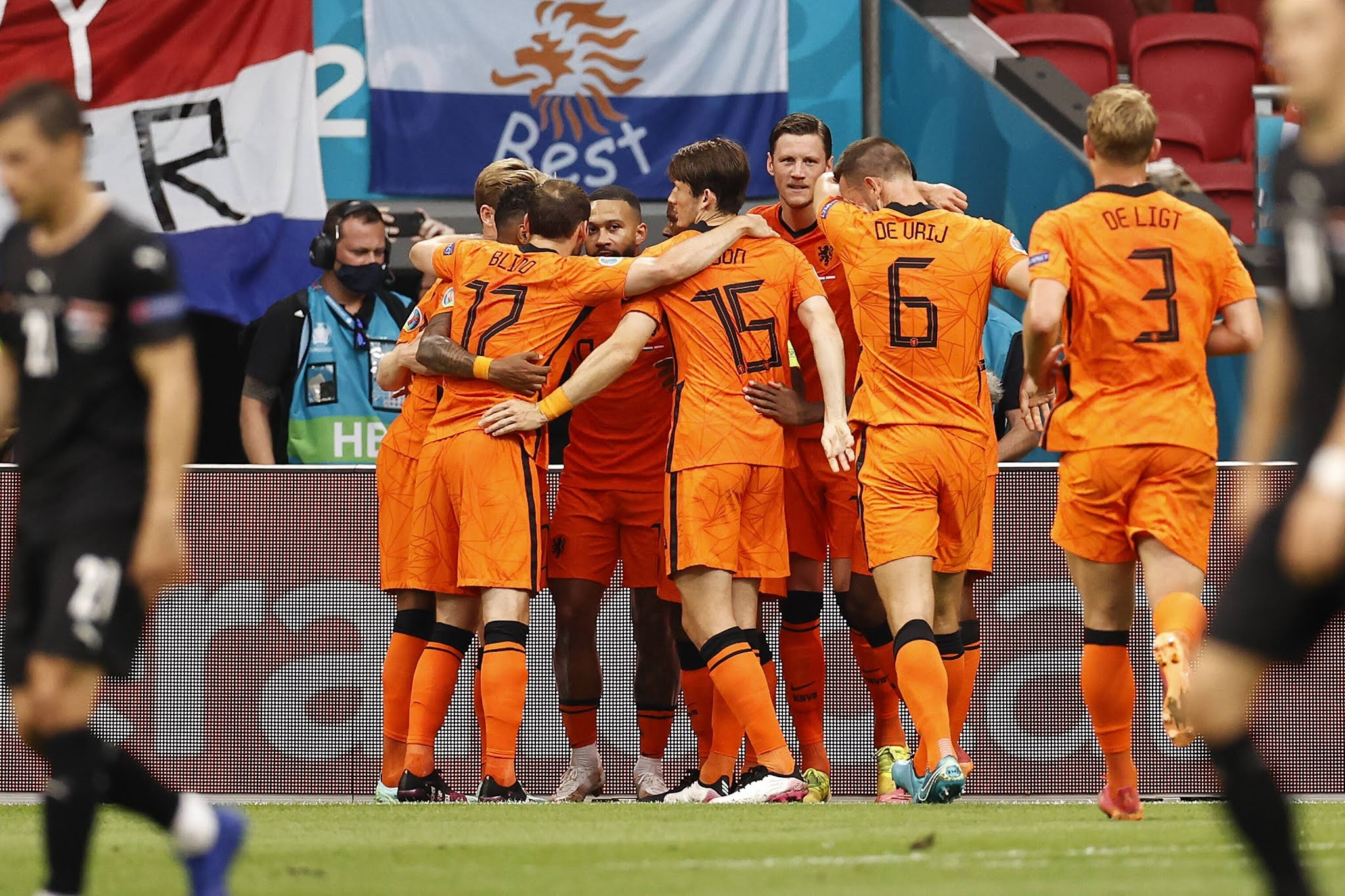 The Flying Dutchmen will be aiming to top Group C against the minnows North Macedonia