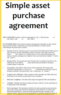 Asset Purchase Agreement (simple) - PDF and Word Download, Sample Asset Purchase Agreement Templates, Asset Purchase Agreement Template - Get Free Sample, Asset Purchase Agreement Simple Template – Word & PDF, Form of Asset Purchase Agreement,