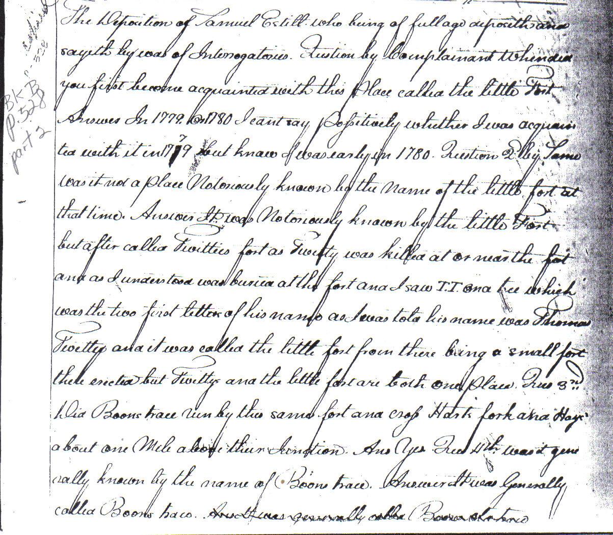 Kentucky Genealogy Who Was Thomas Twitty
