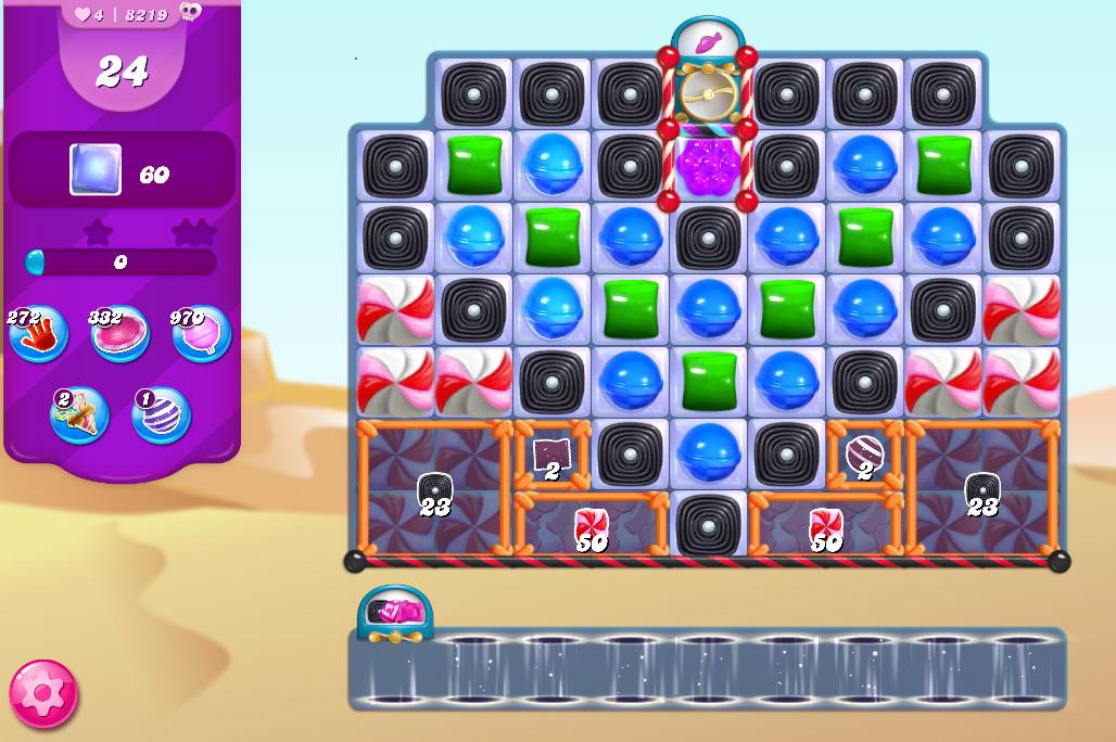 Candy Crush Saga level 8219