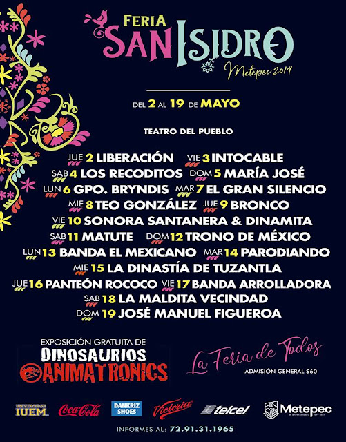 teatro del pueblo feria san isidro metepec 2019