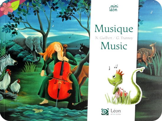 Musique/Music de Nancy Guilbert et Guillaume Trannoy - Léon art & stories