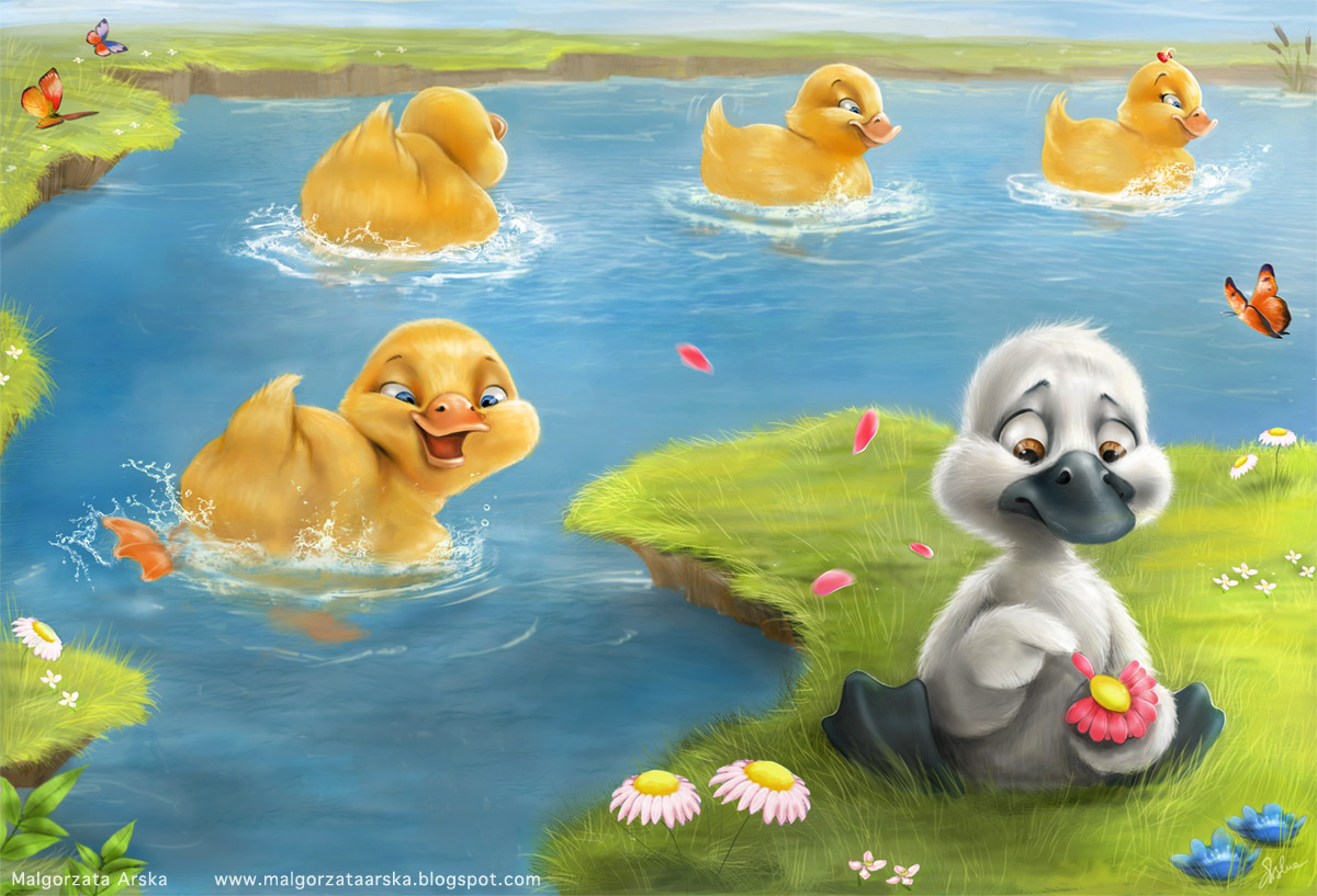 the snow report the story of an ugly duckling aka phonics check