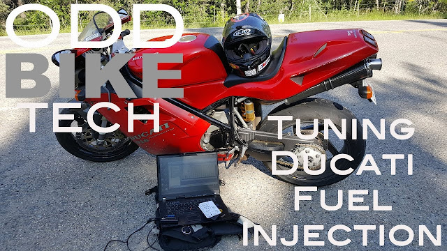 OddBike Tech - How to Tune Ducati Fuel Injection 916