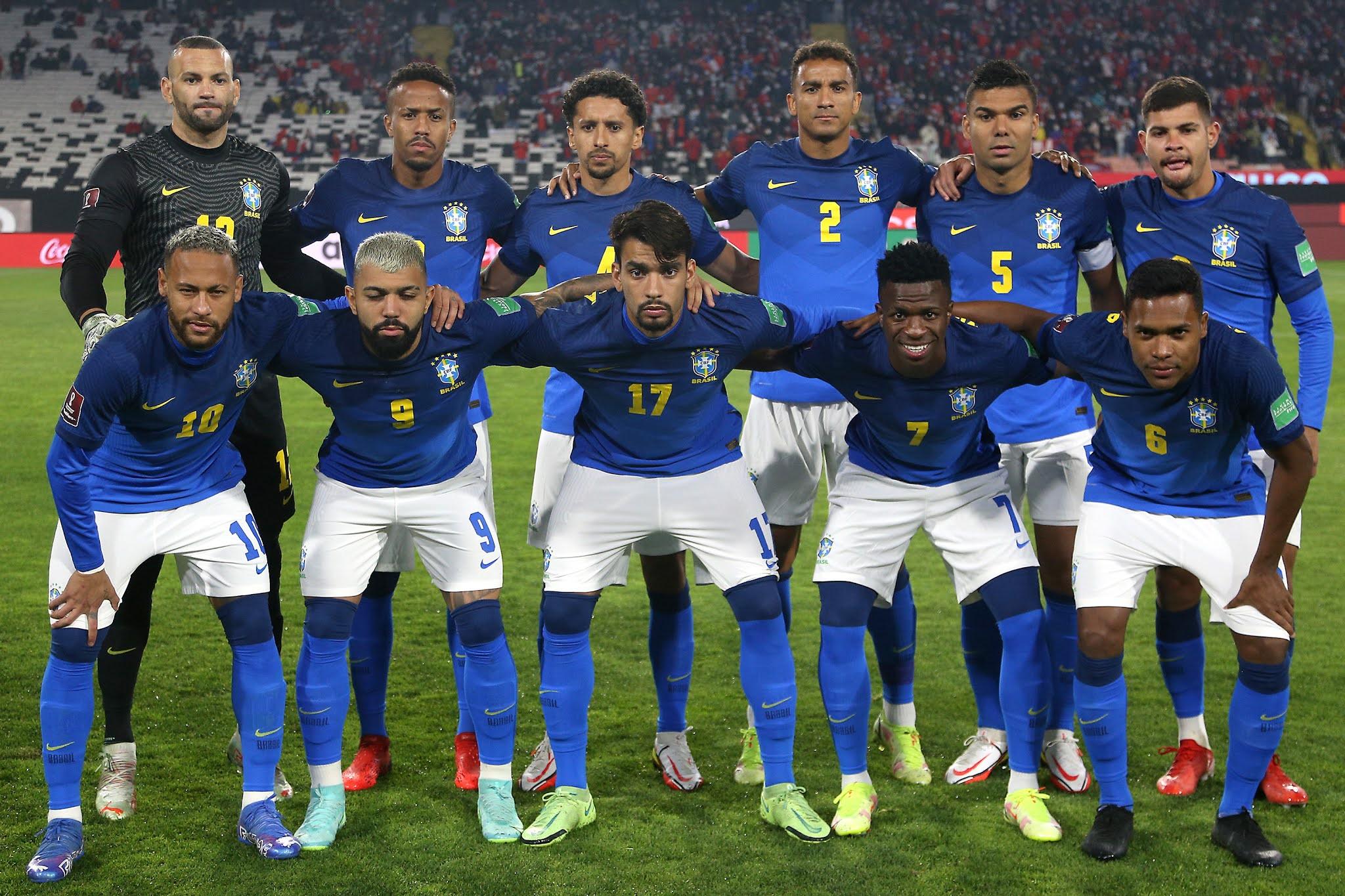 Formación de Brasil ante Chile, Clasificatorias Catar 2022, 2 de septiembre de 2021