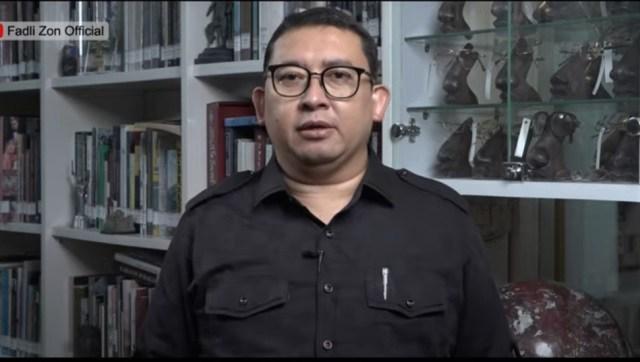Fadli Zon: Tahun 2021 Jadi Puncak Berbagai Krisis
