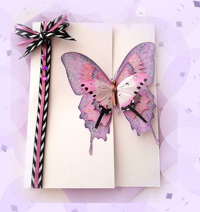 Марта, куплю открытки с бабочками