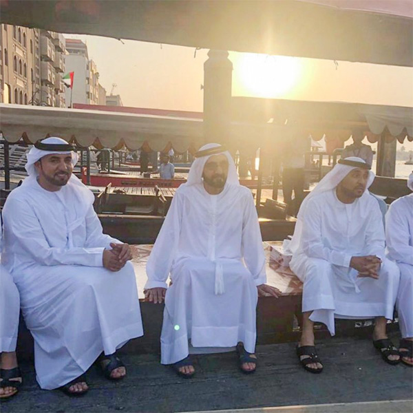 Watch: Sheikh Mohammed visits Deira Gold Souq, checks abra services,Dubai, News, Gulf, Visit, Social Network, Video, World