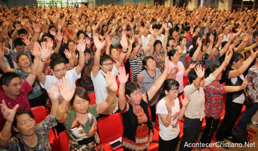 Crecimiento del cristianismo en China