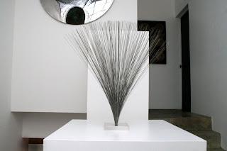 Escultura con sonido Harry Bertoia