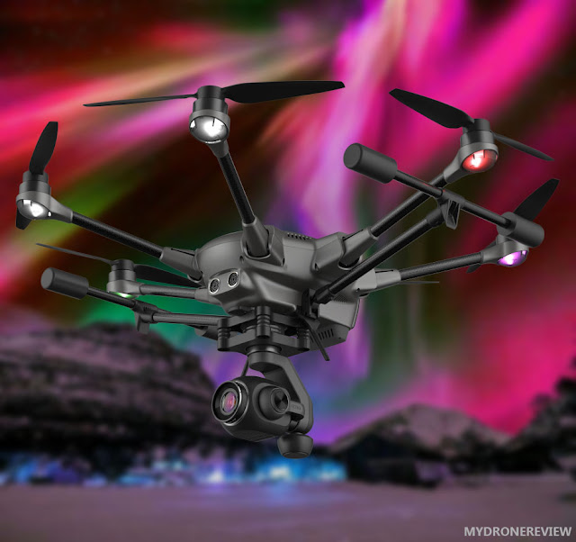 inwards Las Vegas Yuneec introduced 3 novel drones  TYPHOON H PLUS REVIEW - WHAT IS THE DIFFERENCES