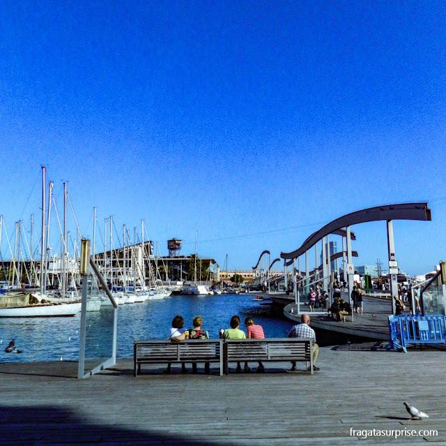 Port Vell e a Rambla del Mar, Barcelona