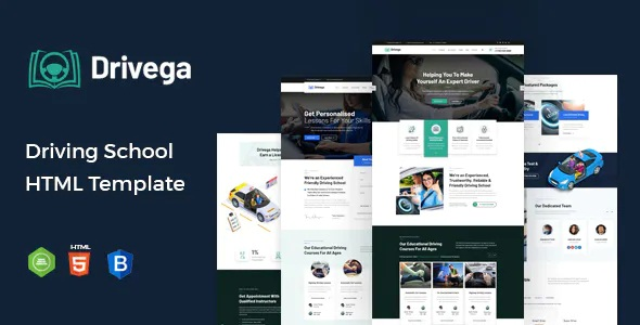Best Driving School HTML Template