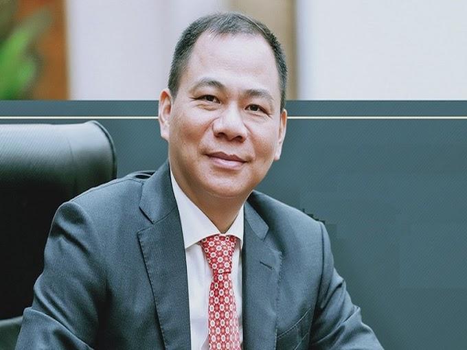 Forbes Công Bố Tỷ Phú Phạm Nhật Vượng - Nhà Từ Thiện Hào Phóng Châu Á