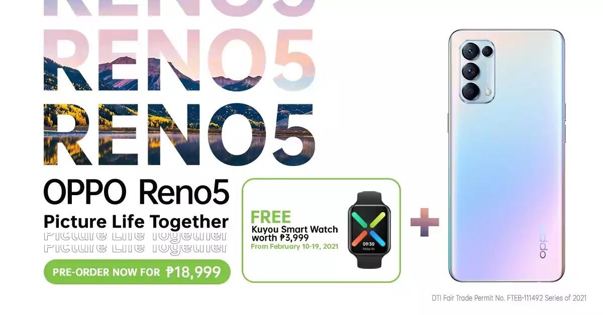 OPPO Reno5 Pre-order