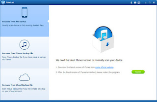 تحميل برنامج قوي لاستعادة بيانات أي أو أس  Aiseesoft FoneLab 10.0.8