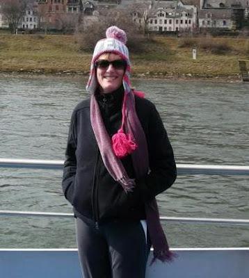 Wearing a sherpa hat in Europe