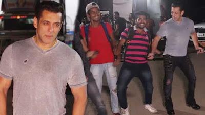 Salman Khan Dances With photographer On Dabangg 3 Song Munna Badnaam Hua
