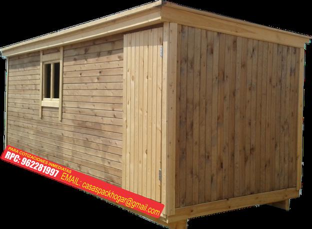 Casetas prefabricadas precios packhogar for Casetas de madera bricor