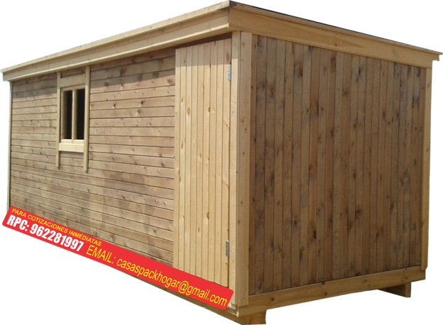 Casetas prefabricadas precios packhogar for Casillas de madera precios