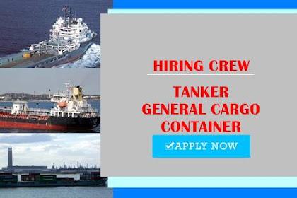 Master, Gas Engineer, Cook, Able Seaman, Oiler