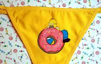 Ropa interior femenina de Los Simpson