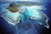 Miracle in Mauritius, 'Waterfall' In The Sea