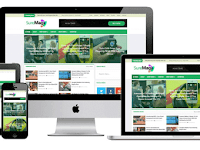 Sure Mag Free Blogger Template